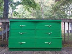 jade green dresser