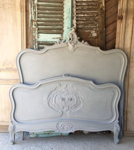 vintage french headboard