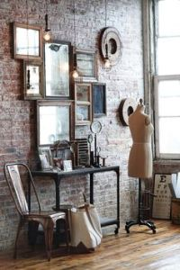 wall mirror collage