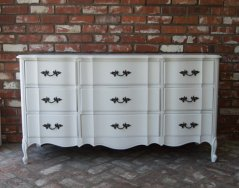 White French Provincial Dresser