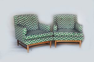 green upholstered chairs retrospectiveaustin