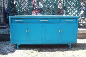 kingfisher blue sideboard oakdale boutique
