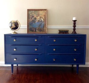 mcm blue sideboard carlabydesign