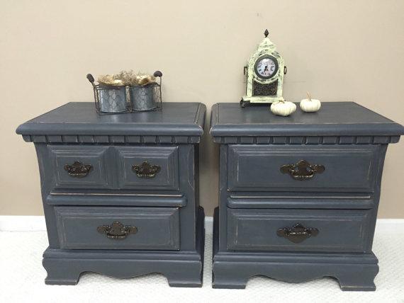 pair gray nightstands madenewdesignct