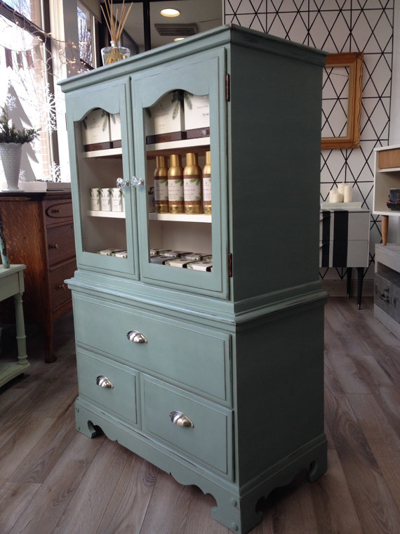 duck egg blue hutch aubedesign canada