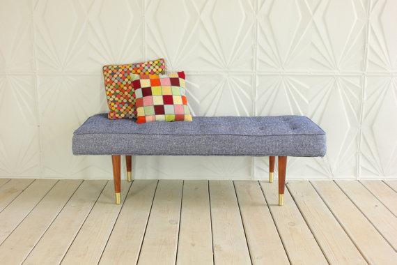midcentury bench